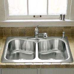 Double Sinks For Kitchen : double kitchen sink 7 10 from 26 votes double kitchen sink 6 10 from ...